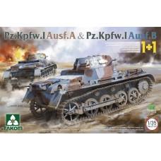 *Tulossa* Pz.Kpfw. I Ausf. A & Pz.Kpfw. I Ausf. B 1+1