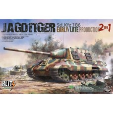Jagdtiger Sd.Kfz.186 Early/Late Production 2 in 1