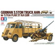 German 3.5 Ton Truck AHN w/3.7cm Flak 37 AA Gun