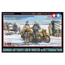 German Luftwaffe Crew (Winter) w/Kettenkraftr