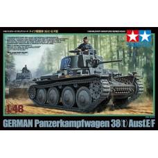 German Panzerkampfwagen 38 (t) Ausf.E/F