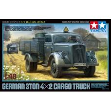 German 3t 4x2 Cargo Truck