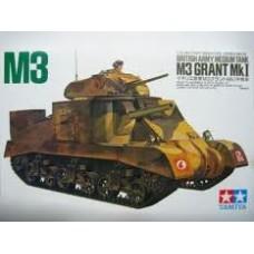 British Army Medium Tank M3 Grant Mk I
