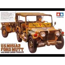 U.S.M151A2 Ford Mutt w/M416 Cargo Trailer