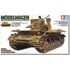 German Self-propelled AA Gun Möbelwagen