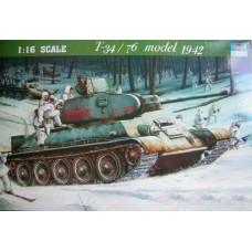 T-34/76 Soviet Tank (1942)