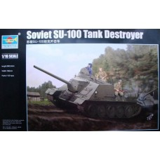 Soviet SU-100 Tank Destroyer
