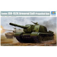 Soviet JSU-152K Armored Self-Propelled Gun