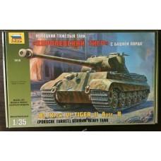 German Heavy Tank Pz.Kpfw.VI Tiger II Ausf.B (Porsche Turret)