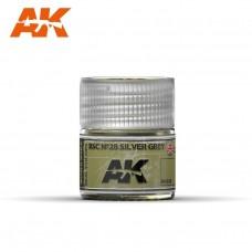 AK RC038 BSC Nº28 Silver Grey