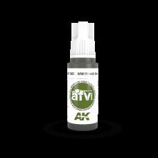 AK 11305 WWI French Green 1
