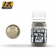 AK 672 Xtreme Metal Pale Brass