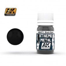 AK 471 Xtreme Metal Black Base
