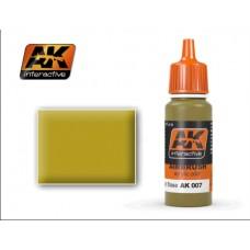 AK 007 Dunkelgelb Light Base