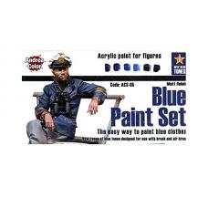 Andrea Color ACS-005 Multi-Purpose Blue Paint Set