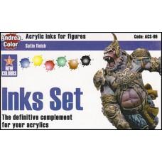 Andrea Color ACS-006 Multi-Purpose Inks Set