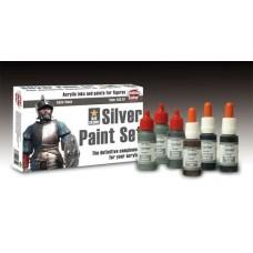 Andrea Color ACS-007 Multi-Purpose Silver Paint Set