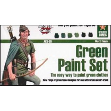 Andrea Color ACS-009 Multi-Purpose Green Paint Set