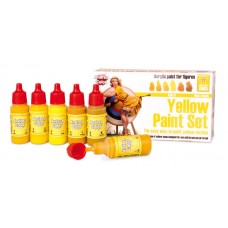 Andrea Color ACS-011 Multi-Purpose Yellow Paint Set