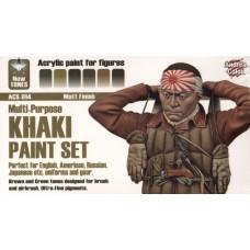 Andrea Color ACS-014 Multi-Purpose Khaki Paint Set