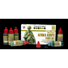 Andrea Color ACS-019 Multi-Purpose Africa Korps Camo Paint Set