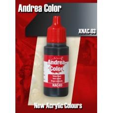 Andrea Color XNAC-03 Shiny Black