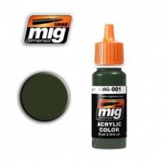 AMIG 1 RAL6003 Olivgrun opt.1