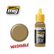 AMIG 105 Washable Dust (RAL8000)