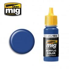 AMIG 103 Medium Blue