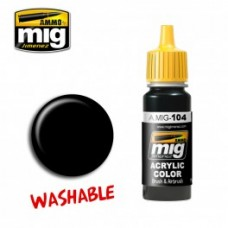 AMIG 104 Washable Black