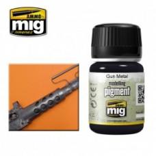AMIG Pigment 3009 Gun Metal