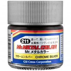 Mr.Metal Color 211 Chrome Silver
