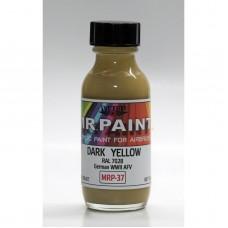 MRP 037 Dark Yellow (RAL 7028)