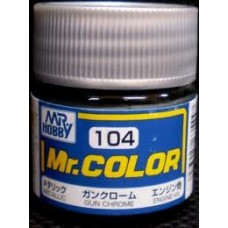 Mr.Color 104 Gun Chrome