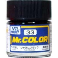 Mr.Color 33 Flat Black