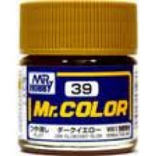 Mr.Color 39 Dark Yellow (Sandy yellow)