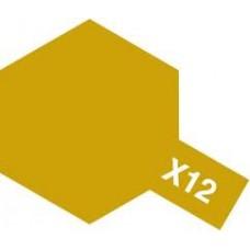 Tamiya Color X-12 Gold Leaf