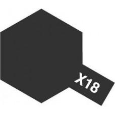 Tamiya Color X-18 Semi Gloss Black