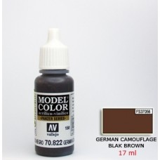 Vallejo 70822 RLM61 German C. Black Brown