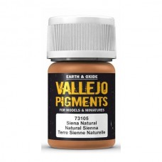 Vallejo Pigments 73105 Natural Sienna