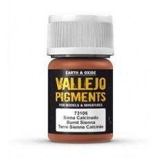 Vallejo Pigments 73106 Burnt Sienna