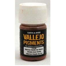 Vallejo Pigments 73108 Brown Iron Oxide