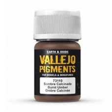 Vallejo Pigments 73110 Burnt Umber
