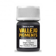 Vallejo Pigments 73116 Carbon Black (Smoke Black)