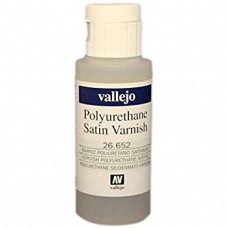 Vallejo 26.652 Polyurethane Satin Varnish 60ml