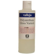Vallejo 27.650 Polyurethane Gloss Varnish 200ml