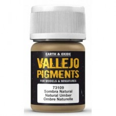 Vallejo Pigments 73109 Natural Umber