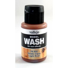 Vallejo 76505 Wash Light Rust