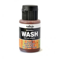Vallejo 76507 Wash Dark Rust