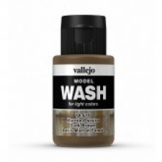 Vallejo 76514 Wash Dark Brown